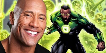 The Rock Green Lantern